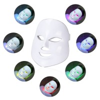 Beauty Photon LED Facial Mask Therapy 7 colors Light for Skin Care